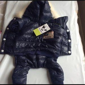 Dog Jacket with hoodie